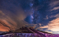 合歡山 瑪雅平台銀河 - Milky Way of Hehuan Mountain (BisonAlex) Tags: 南投 taiwan sony a73 a7iii a7m3 a7 台灣 外拍 旅拍 travel hehuanmountain 合歡山 銀河 milkyway glacier