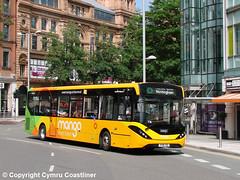 smart travel (Cymru Coastliner) Tags: trentbarton adlenviro200mmc 216 yy18tsu bus nottingham indigo wellglade