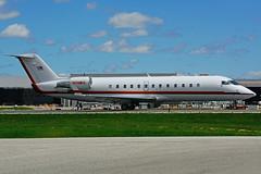 N711WS (WUMAC - Maine Aviation Aircraft Charter) (Steelhead 2010) Tags: wumac bombardier canadair crj crj200 challenger800 bizjet nreg n711ws yyz