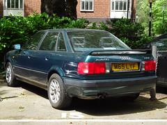 1994 Audi 80 Quattro 2.6E (Neil's classics) Tags: 1994 audi 80 quattro 26e car