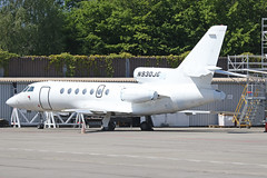 N930JG Dassault Falcon 50 Geneva 23rd May 2019 (michael_hibbins) Tags: n930jg dassault falcon 50 geneva 23rd may 2019 n american america aeroplane aerospace aircraft aviation airplane aero airport airports