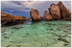 The Aquarium (please enlarge to see🐠🐠🐠🐠) (galvanol) Tags: ansemarron beach pool aquarium ladigue island indianocean olivergalvan seychelles blue holiday granite
