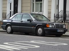1990 Mercedes Benz 190E (Neil's classics) Tags: 1990 mercedes benz 190e w201 car