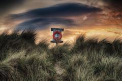 Alnmouth (brian_stoddart) Tags: landscape grass sky colour clouds object tones