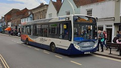 Stagecoach South 37269 (SL64 HXD) Chichester 14/6/19 (jmupton2000) Tags: sl64hxd alexander dennis enviro 200 dart route 55 tangmere stagecoach south uk bus southdown coastline