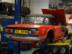 1974 Triumph TR6 (Neil's classics) Tags: 1974 triumph tr6 car