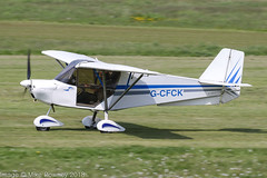 G-CFCK - 2008 build Bestoff Skyranger Swift, rolling for departure on Runway 26L at Barton (egcc) Tags: bmaahb565 barton bestoff cityairport egcb gcfck lightroom manchester microlight skyranger smith sperring swift