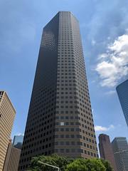 One of These Things is... (Diorama Sky) Tags: unitedstates us texas tx houston architecture officebuilding threeallencenter lloydjonesbrewerassociates wall curtainwall window dioramasky fora