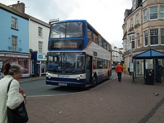 The Open Topper Thats Not. (aecregent) Tags: teignmouth 140619 stagecoachsouthwest trident alx400 18368 wj55nma 222