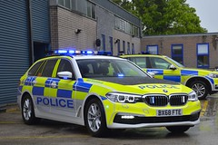 BX68 FTE (S11 AUN) Tags: leicestershire leics police bmw 530d xdrive 5series touring anpr traffic car rpu roads policing unit 999 emergency vehicle bx68fte