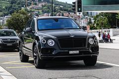 Switzerland (Ticino) - Bentley Bentayga (PrincepsLS) Tags: switzerland swiss license plate lugano spotting ti ticino bentley bentayga