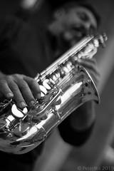 saxophone (Peter_Wa) Tags: musicinbw smileonsaturday