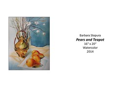 "Pears and Teapot • <a style=""font-size:0.8em;"" href=""http://www.flickr.com/photos/124378531@N04/48062045257/"" target=""_blank"">View on Flickr</a>"