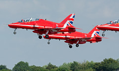 201807 RAF Red Arrows Takeoff (Gedblofeld) Tags: riat fairford