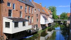 Hanging Kitchens of Appingedam (willi.kampf) Tags: pittoresk hangingkitchens middelgroningen niederlande appingedam hangendekeukens overhangendekeukens