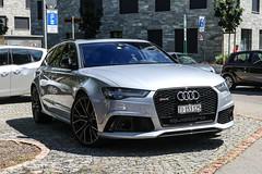 Switzerland (Ticino) - Audi RS6 Avant C7 2015 (PrincepsLS) Tags: switzerland swiss license plate lugano spotting ti ticino audi rs6 avant c7 2015