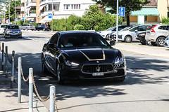 Switzerland (Ticino) - Maserati Ghibli Diesel 2013 (PrincepsLS) Tags: switzerland swiss license plate lugano spotting ti ticino maserati ghibli diesel 2013
