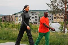 let's walk (Wackelaugen) Tags: buga 2019 heilbronn germany bundesgartenschau sculpture canon eos 760d photo photography stephan wackelaugen