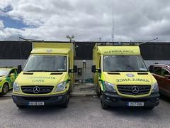 Irish National Ambulance Service - Mercedes Benz Sprinter Ambulances - Killarney, County Kerry (firehouse.ie) Tags: ireland mercedes benz eire ambulance mercedesbenz nas ambulances hse sprinter mercedessprinter krankenwagen 4v03 4l36