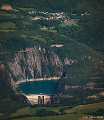 Barrage de Monteynard (Quentin Douchet) Tags: auvergnerhônealpes barragedemonteynard barragevoûte edf isère renewableenergy archdam barrage dam enr landscape paysage énergierenouvelable avignonet france