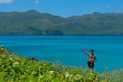 Siempre arriba (ben.bourdon) Tags: playa caribe república dominicana vacaciones azul turquesa montañas samaná las galeras