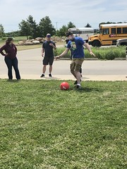 "BELL parent participating in beep kick ball • <a style=""font-size:0.8em;"" href=""http://www.flickr.com/photos/29389111@N07/48062204782/"" target=""_blank"">View on Flickr</a>"