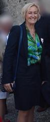 DSC_02751 (womaninskirt) Tags: woman skirt blouse jacket blonde stockings nylons handbag
