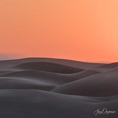 Grey sands (Jerzy Orzechowski) Tags: shadows dunes sand landscape namibia abstract sandwichharbour orange sunrise