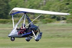 G-CIJO - 2014 build P & M Aviation Quik GTR Explorer, arriving on Runway 26L at Barton (egcc) Tags: 8702 barton cityairport egcb explorer flexwing gcijo lightroom manchester microlight montila pmaviation quik quikgtr weightshift