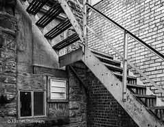 Dark Corner Under the Stairs (Kool Cats Photography over 12 Million Views) Tags: streetphotography structure street stairs streetart highcontrast blackandwhite blackwhite bw monochrome outdoor alley architecture artistic art abstract angles textures textured