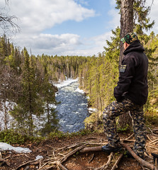 Oulanka National Park (SamiPuranen) Tags: oulanka nationalpark finland canon canonphotography canon6d canonllens nature naturephotography 2019 spring kuusamo suomi luontokuvaus luonto suomenluonnonvalokuvaajat snow river forest
