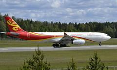 Hainan B-5935, OSL ENGM Gardermoen (Inger Bjørndal Foss) Tags: b5935 hainan airbus a330 osl engm gardermoen