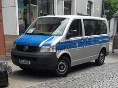 VW T5 (michaelausdetmold) Tags: volkswagen vw t5 justiz fahrzeug hessen