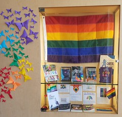 Chavez Branch - 2019 Pride Book Display (oaklandlibrary) Tags: oakland pride2019 pride chavez fruitvale bookdisplay books displays display
