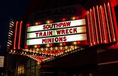 Strand Theatre Marquee (Eridony (Instagram: eridony_prime)) Tags: delaware delawarecounty ohio metrocolumbus downtown theater theatre movietheater marquee