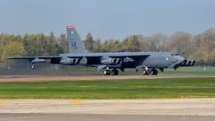 Boeing B-52H 'Aero 85' I 61-0015/LA I 96th BS 'Red Devils', 2nd BW USAF Barksdale (MarkYoud) Tags: boeing b52h usaf barksdale raf fairford soverign skies aero military heavy bomber 2nd bw 96th bs red devils
