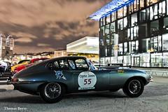 Jaguar Type E Coupé 3.8 1964 (tautaudu02) Tags: jaguar type e coupé 38 tour auto optic 2000 2016 moto cars coches voitures automobile