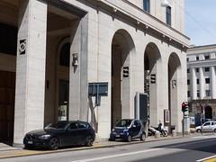 Padoue, Vénétie, Italie: ancien siège de l'Istituto nazionale della previdenza sociale (Marie-Hélène Cingal) Tags: italia italy italie vénétie padova padoue