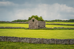 Derbyshire countryside (Dannis van der Heiden) Tags: sheldon lead mine rock stone grass field clouds drama landscape wall sky ruins road england derbyshire countryside mowed meadow drystonewalls nikond750 d750 tamron70210mmf4 house tree poles peakdistrict nationalpark lines