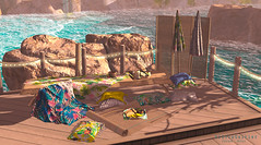 I have everything ready (Silvia Galtier) Tags: silviagaltier jaradnoor thearcadeevent alananazareowyn bento blog backdrop beach bag umbrella whatnext alananazar noor nazar jarad decor merak