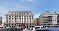 Padoue, Vénétie, Italie: ancienne Bourse et  Chambre de commerce (Marie-Hélène Cingal) Tags: italia italy italie vénétie padova padoue