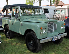 Series III (Schwanzus_Longus) Tags: bruchhausen vilsen german germany uk gb great britain british england english old classic vintage car vehicle 4x4 awd 4wd offroad offroader land rover series iii