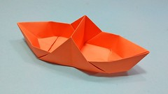 How to Make an Origami boat from paper | Origami Boat Easy Instruction For Kids (sanjidakhatun885) Tags: how make an origami boat from paper | easy instruction for kids