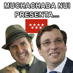 Almeida_asqueroso_Sticker (lazarillos) Tags: pp almeida señorasqueroso muchachada nui politicos alcalde madrid