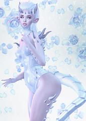 [Unholy] (Mykie Kiyoko) Tags: secondlife sl 2ndlife blog slblog cureless flf aiiego tableauvivant insol bossie sweetthing genus babyface