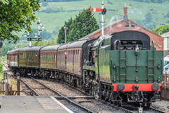 Gloucestershire Warwickshire Steam Railway, Doddington. (Anthony P Morris) Tags: gloucestershire warwickshire steam railway train steamtrain ageofsteam loco locamotive nostagia anthonypmorris anthonymorris tonymorris farmoor oxford oxfordshire