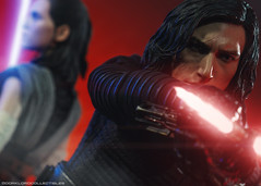 Hot Toys The Last Jedi Kylo Ren and Rey (dorklordcollectibles) Tags: hottoys actionfigure toy onesixth onesixthscale toyphotography sonya6000 a6000 starwars kyloren rey thelastjedi