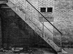 Trashy (Kool Cats Photography over 12 Million Views) Tags: trashy architecture art artistic abstract blackandwhite bw monochrome highcontrast street structure streetphotography stairs textures texture dark photography artwork
