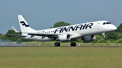 OH-LKI (AnDyMHoLdEn) Tags: finnair embraer oneworld egcc airport manchester manchesterairport 05r