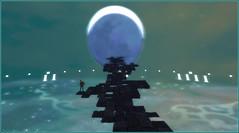 It's time ... (Tim Deschanel) Tags: tim deschanel sl second life exploration paysage landscape aii et ego mai tai lune moon heure time